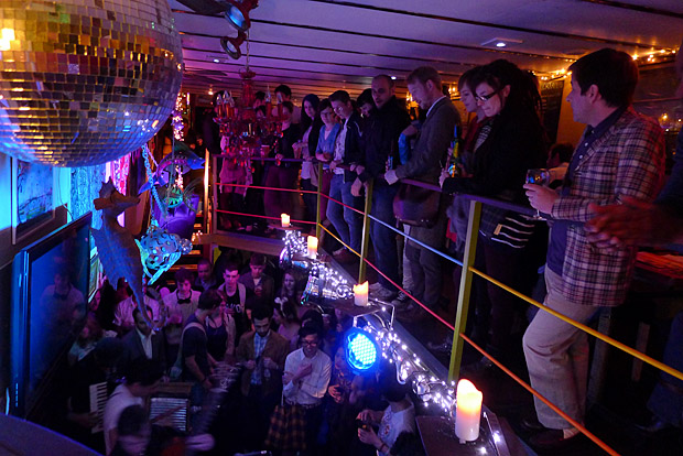 Severed Limb vinyl launch party on a Boat at the The Tamesis Dock, Albert Embankment. London, 29th March 2012
