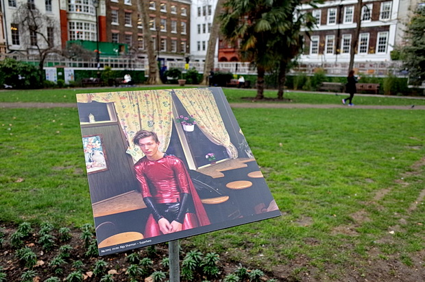 Soho, twelve years in - photo project looks to capture the first day of the New Year, Soho Square, London, March 2015