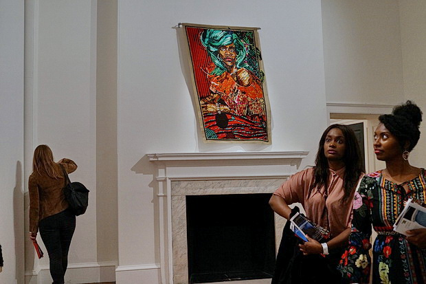 Somerset House art - Athi Patra Ruga's 'Of Gods, Rainbows and Omissions