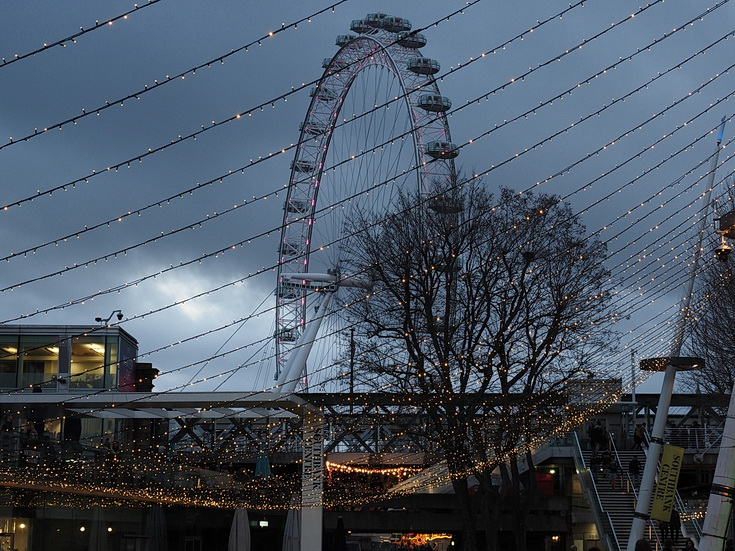 Winter Light at the Southbank Centre - in photos