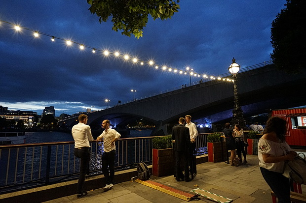 The beauty of London at night: a summer stroll along the South Bank, July 2017