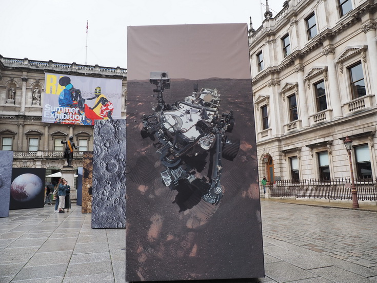 Spacescapes: postcards from our Solar System - outdoor photo exhibition in Central London