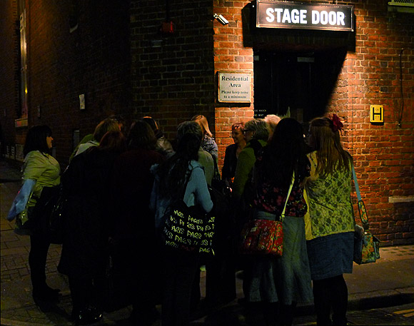 Stage doors, sweets and the old Marquee club, London