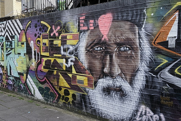 Street art and graffiti of Shoreditch and Brick Lane, East London