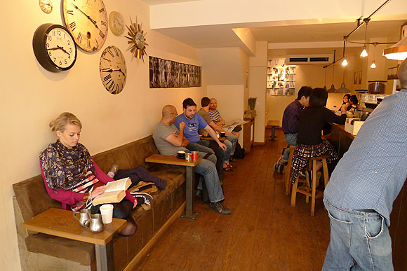 Tapped & Packed coffee house, Fitzrovia serves up the goods