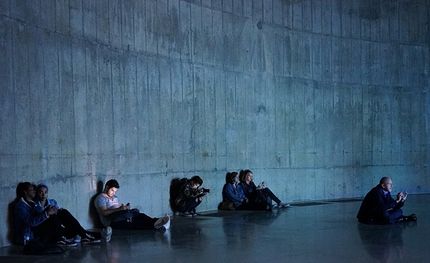 Tate Modern photos: Huge chairs, The Clock, a heat sensitive floor and more, London, October 2018