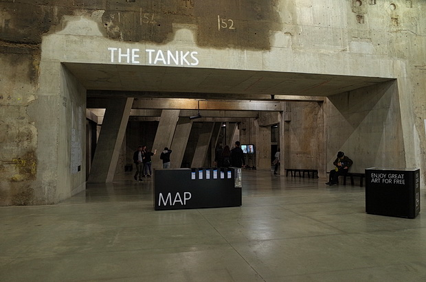 Tate Modern Tanks and Switch Room - and a wonderful audio installation, London