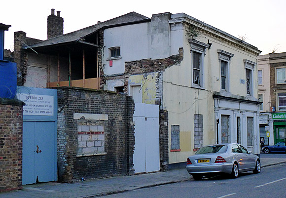 The Crown (Mucky Duck), 201 Coldharbour Lane SW9 awaits its fate