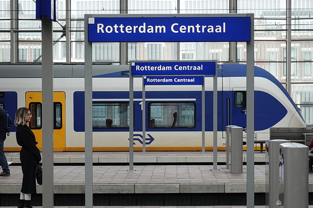 In photos: A look around The Hague and the striking lines of Rotterdam Centraal