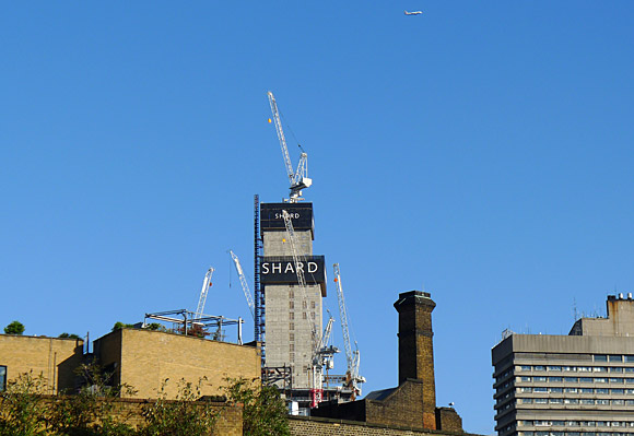 The Shard rises! Iconic London skyscraper underway