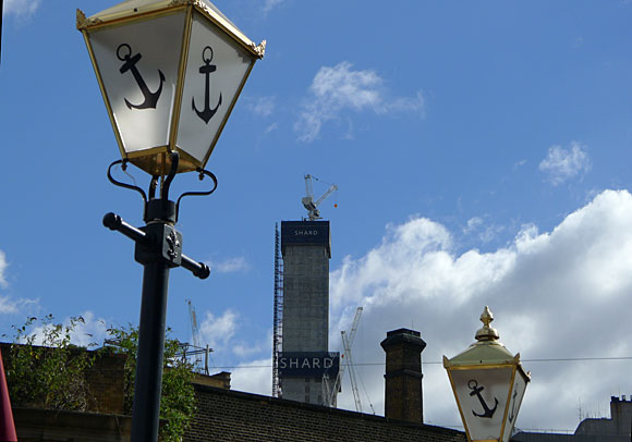 The London Shard reaches for the sky