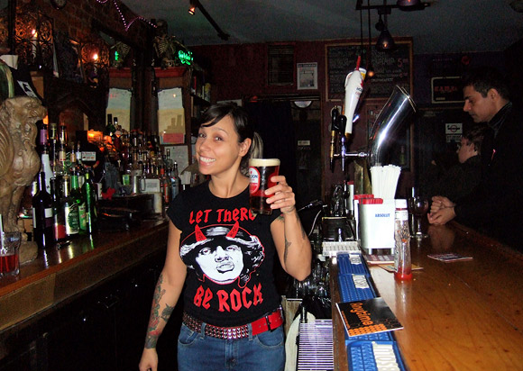 The Raven bar, East Village, NYC remembered