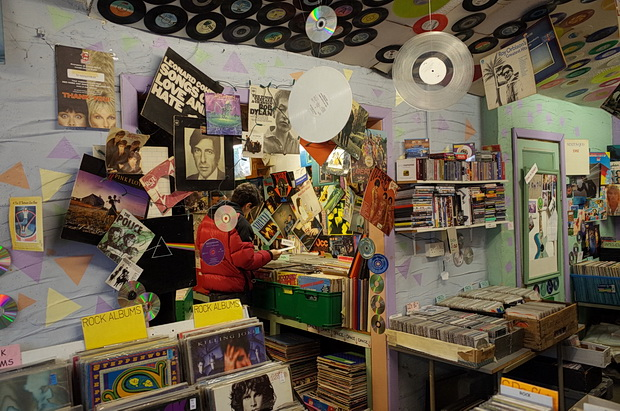 The Record Shop in Inverness Place, Roath, Cardiff: a vinyl and CD collector's dream