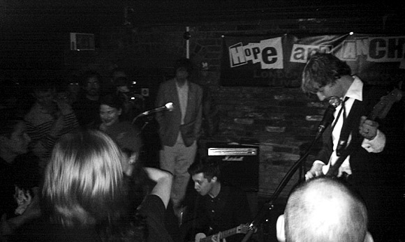 Thee Spivs at the Hope and Anchor, Islington N1
