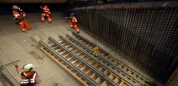 Tottenham Court Road tube upgrade - TfL release work in progress video