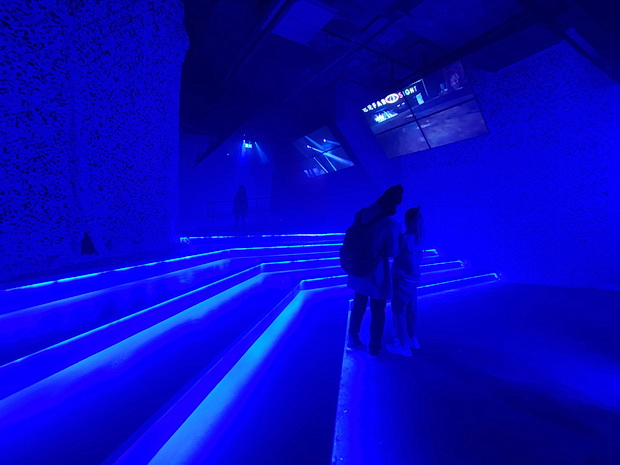 United Visual Artists: Other Spaces - an audio visual treat at 180 The Strand, London