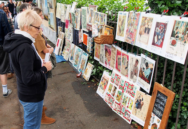 Urban Art Fair 2012, Josephine Avenue. Brixton, London SW2 15th July 2012