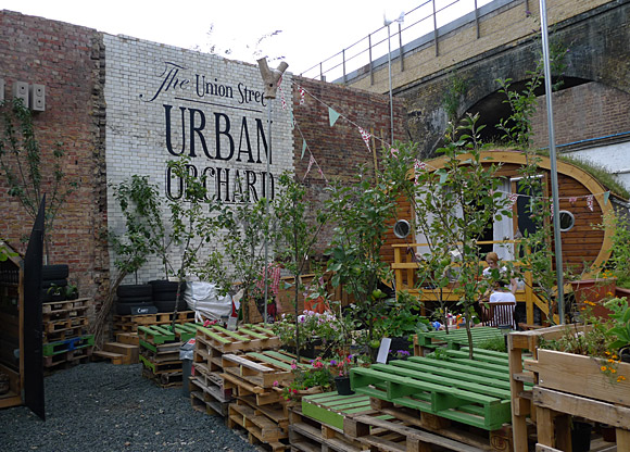 urban orchard and and community garden union street se1
