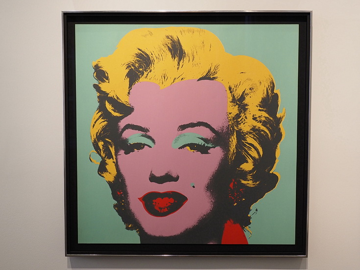 Andy Warhol Unseen at the Halycon Gallery, New Bond Street, London
