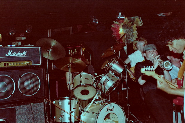 Bands of my past: Apartment, the East London soul/funk outfit with a different line up for every gig
