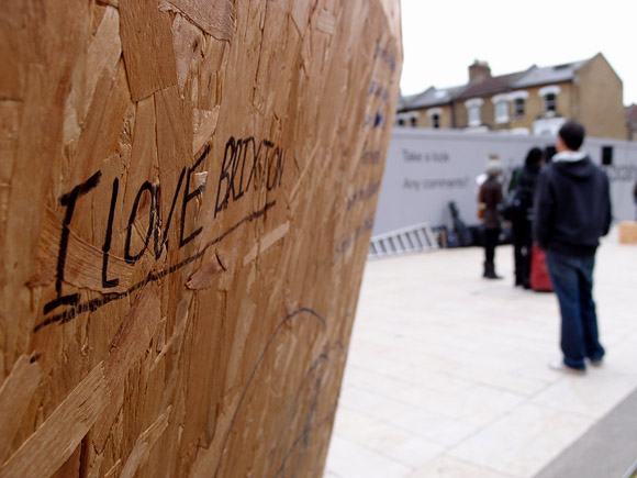 We Love Brixton event, Windrush Square, Brixton, south London 8th October 2011