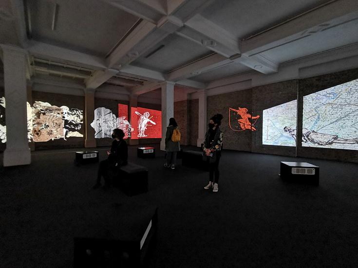 Whitechapel Gallery - surrealism, sounds, social housing, films and art