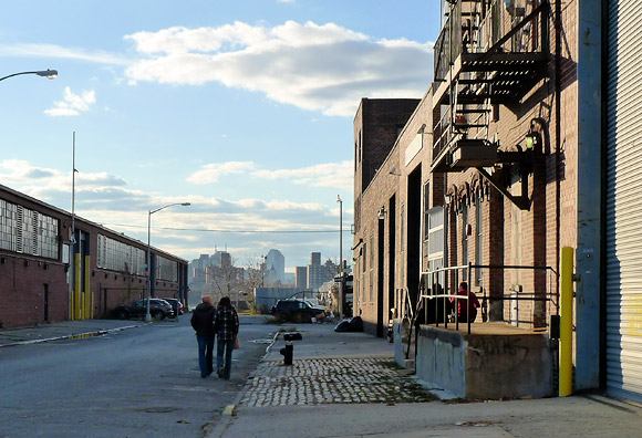 A winter's walk around Williamsburg and Brooklyn, New York, USA