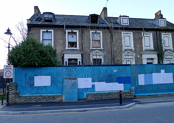 Abandoned Victorian mansions, Windsor Walk, Denmark Hill SE5