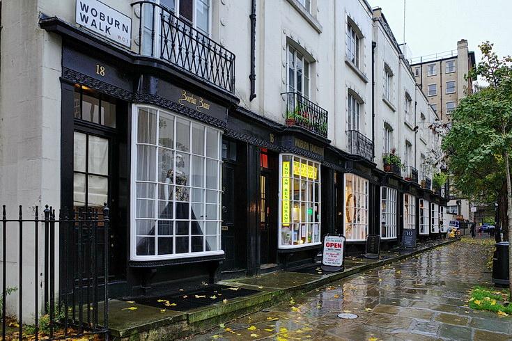 In photos: the Regency wonder of Woburn Walk in Bloomsbury, London
