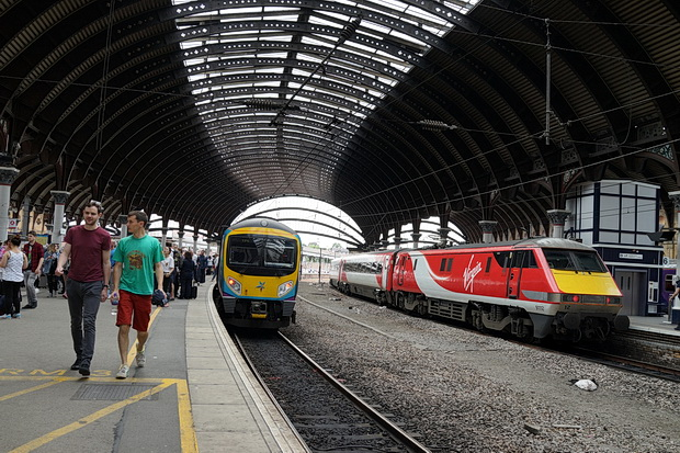 In photos: the beauty of York railway station