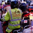 "There was much a-tootin' of horns around the streets of Trafalgar Square last night, as a bevy of motorcyclists from the ""No To the Bike Parking Tax"" campaign group headed into town."