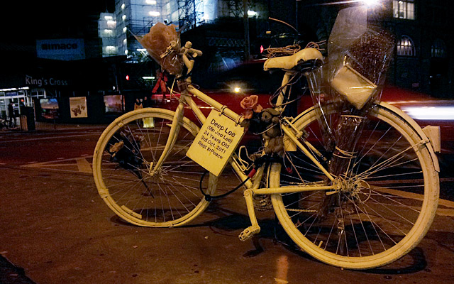 Ghosts bikes, Bikes Alive and the fight for safe cycling in London