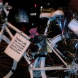 With the tragic sight of white 'Ghost Bikes' (unofficial memorials where riders have been killed) becoming more common on London's streets, cyclists are fighting back.