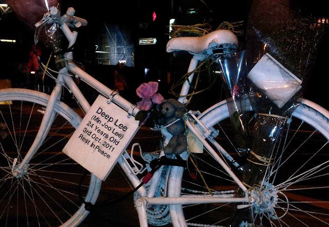 Ghosts bikes, Bikes Alive and the fight for the safety of cyclists in London
