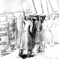 London billboards and sandwich board men So, you're walking along The Strand in 1838, minding your own business, when suddenly you're confronted with a line of walking metal pots. Is […]