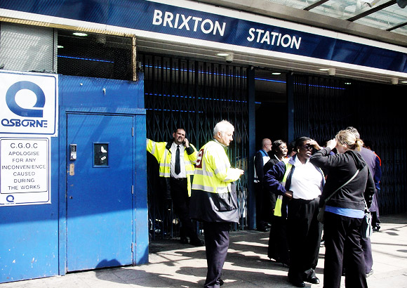 brixton-station-closed