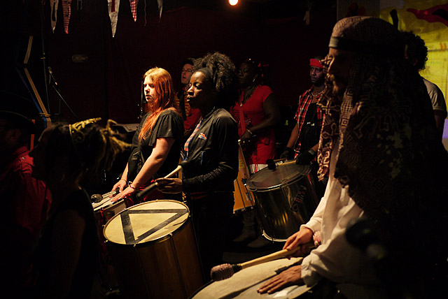 Fri 2nd March - samba drummers galore at the free BrixtonBuzz launch party!