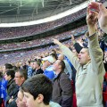 Cardiff City heartbreak at the Carling Cup final. I get very drunk