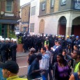 After last night's eviction party, the police came in mob handed to throw out the remaining residents of the long standing Brixton squat at Clifton Mansions. A large police presence was in […]
