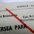 Purchased for the princely sum of £1.25 on eBay, this old British rail ticket is for a journey which can no longer be made, as East Brixton station has long […]