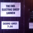 To celebrate the publication of their first book, the folks from Electric Sheep Magazine held a launch party at the Horse Hospital, Colonnade, Bloomsbury WC1.
