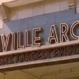 Some fascinating footage shot by British Pathe in summer 1961 shows Granville Arcade in all its rather stylish glory – with a particularly natty Art Deco sign above the Coldharbour Lane entrance.
