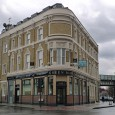 Situated on the corner of Coldharbour Lane and Hinton Rd, Loughborough Junction near Brixton, the Green Man was once a fine – if rather run-down – community boozer.