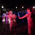 Performing last night at the Greenwich Comedy Festival was the fabulous 60s go-go dancing troupe, The Actionettes.