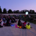 Last night, a free evening event was put on at the Herne Hill Velodrome, with the classic cycling movie 'Belleville Rendez-vous' being shown on a bike-powered screen and PA.