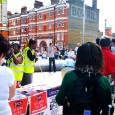 At 10am this morning, there was a joint ATL, PCS and ATL rally in Windrush Square, Brixton in support of  the nationwide  J30 Strike.