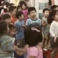 Man oh man, this is magnificent. Check out this footage of the the Sullivan School kindergarten classes singing and pogoing along to the Raomones punk classic,  'Judy Is A Punk.'