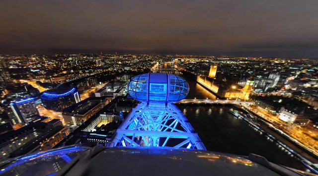 London Eye 360 videos serves up interactive London views