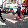 Seen flapping around Atlantic Road, Brixton this afternoon…