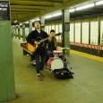 Here's another selection of photos from our December 2010 NYC trip, starting with these buskers on Bedford Avenue subway station, Williamsburg, Brooklyn.